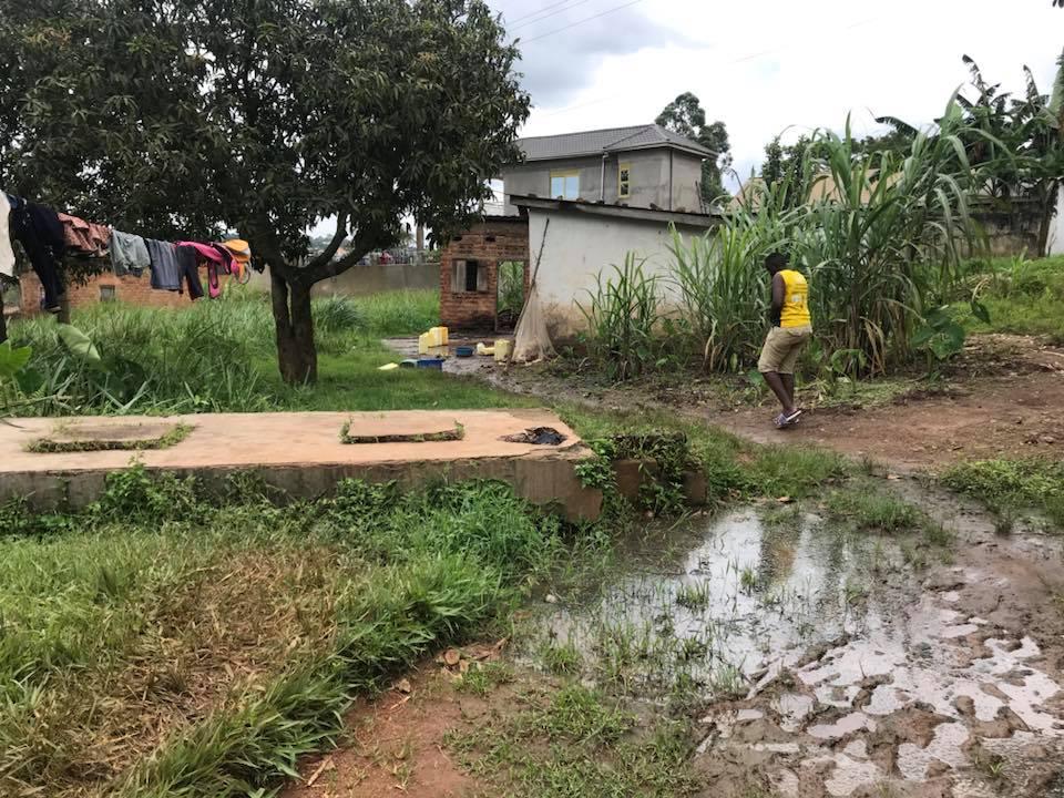 Slums of Uganda.