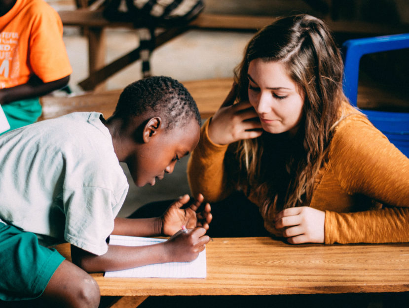 Education volunteer program in Uganda